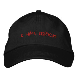 I Hate Everyone Hat