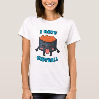I Hate Gluten! Gluten-Free Awareness Clothing T-Shirt