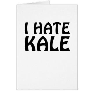 I Hate Kale Card