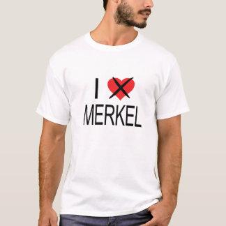 I HATE Merkel T-Shirt