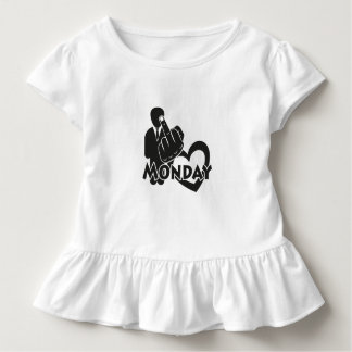 I hate Monday! Toddler T-shirt