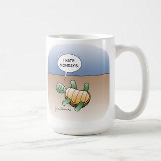 I HATE MONDAYS COFFEE MUG