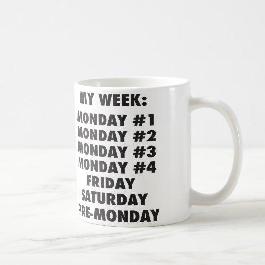 I Hate Mondays - Funny Novelty Coffee Mug
