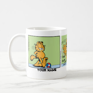 """I Hate Mondays"" Garfield Comic Strip Coffee Mug"