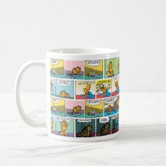 """I Hate Mondays"" Garfield Comic Strips Coffee Mugs"