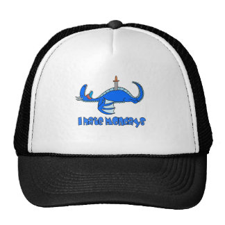 I hate Mondays, Silly Dragon Trucker Hat