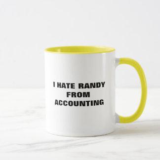 I HATE RANDY FROM ACCOUNTING MUG