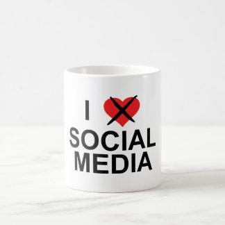 I Hate Social Media Coffee Mug