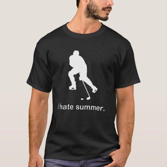 I hate summer (dark) T-Shirt