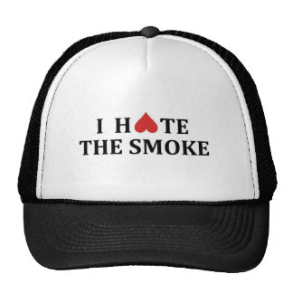 I hate the smoke trucker hat