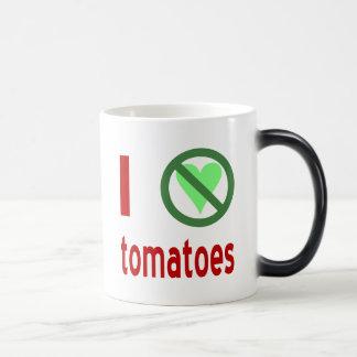 I Hate Tomatoes Magic Mug