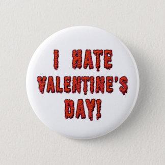 I Hate Valentine's Day 2 Inch Round Button