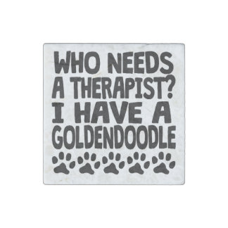 I Have A Goldendoodle Stone Magnets