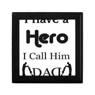 I Have a Hero I Call Him Dad Gift Box