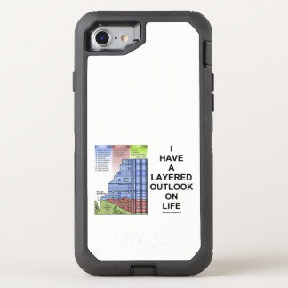 I Have A Layered Outlook On Life Grand Canyon OtterBox Defender iPhone 8/7 Case