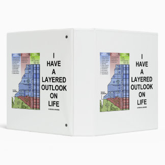 I Have A Layered Outlook On Life Grand Canyon Vinyl Binders