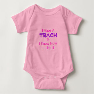 I Have a Trach Baby Bodysuit