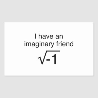 I Have An Imaginary Friend Stickers