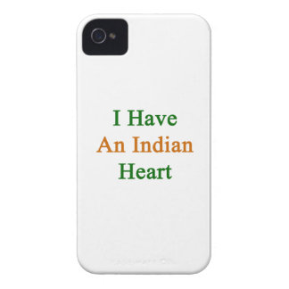 I Have An Indian Heart iPhone 4 Cases