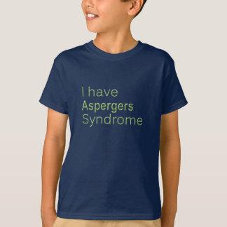 I have aspergers - kid's T-shirt