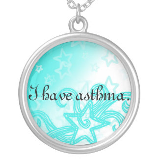 I Have Asthma Necklace