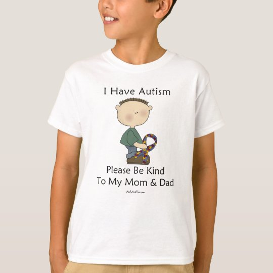 I Have Autism (boy) T-Shirt