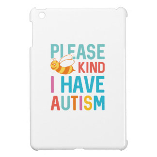 I Have Autism Cover For The iPad Mini