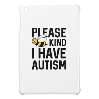 I Have Autism iPad Mini Case
