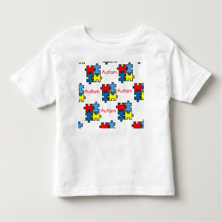 I Have Autism Puzzle Tagless T-shirt 4-5T