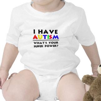 I have Autism. Bodysuit
