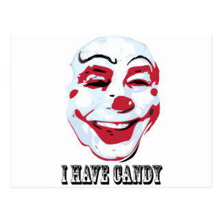 I Have Candy Postcard