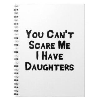 I have daughter Fathers Day Gift Stepdad Grandpa Notebook