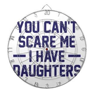 I Have Daughters Dartboard