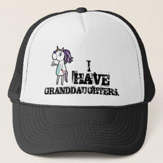 I HAVE GRANDDAUGHTERS TRUCKER HAT