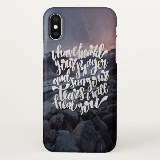 I have heard your tears iPhone x case