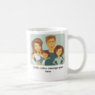 'I Have Kids' status message mug - Customized