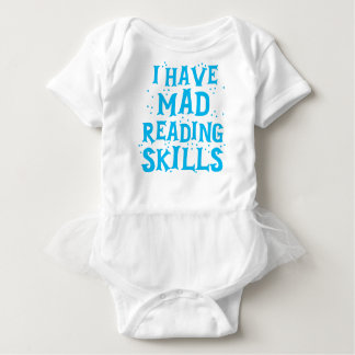i have mad reading skills baby bodysuit
