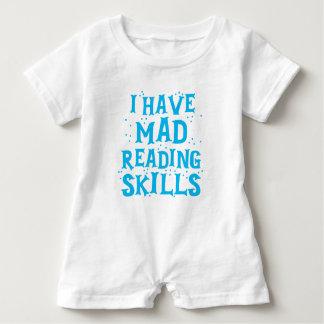 i have mad reading skills baby romper