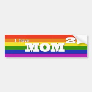 I have Mom 2 (squared) Bumper Sticker