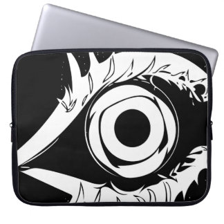 I have my eye on you #1 laptop sleeve