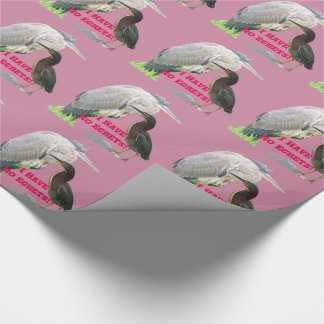 I Have No Egrets! Wrapping Paper