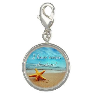 I have Ocean Devotion Charm, Ocean, Starfish,Beach Photo Charm