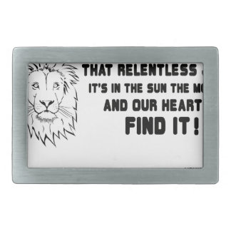 I have seen that smile great quote rectangular belt buckle