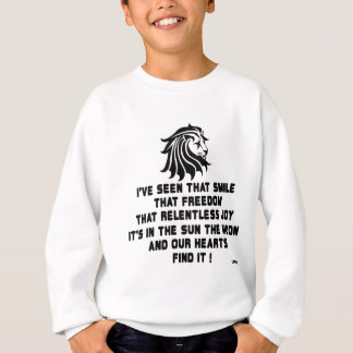 I have seen that sweatshirt