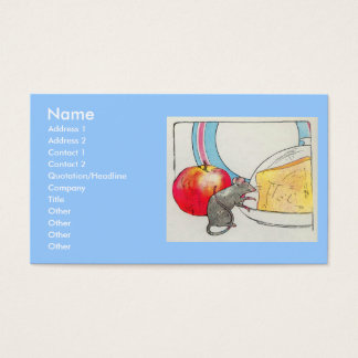 I have seen you, little mouse business card
