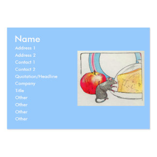 I have seen you, little mouse large business card