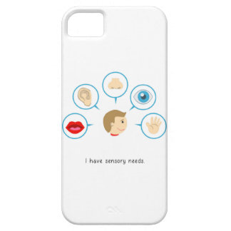 I have sensory needs - I phone case