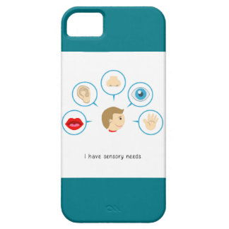 I Have Sensory Needs - iPhone Case (Turquoise)