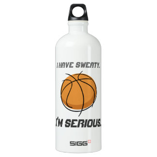 """""""I Have Sweaty.  I'm Serious."""" SIGG Traveler 1.0L Water Bottle"""