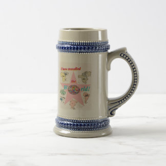 I have travelled the world mug